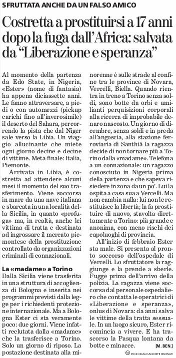 30-03-2016_prostituzione_LeS_lastampa-novara