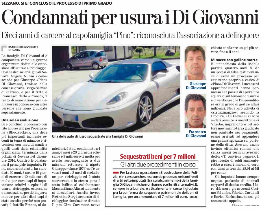 31-05-2016_digiovanni_bloodsucker_condanna_abbreviato_lastampa-novara