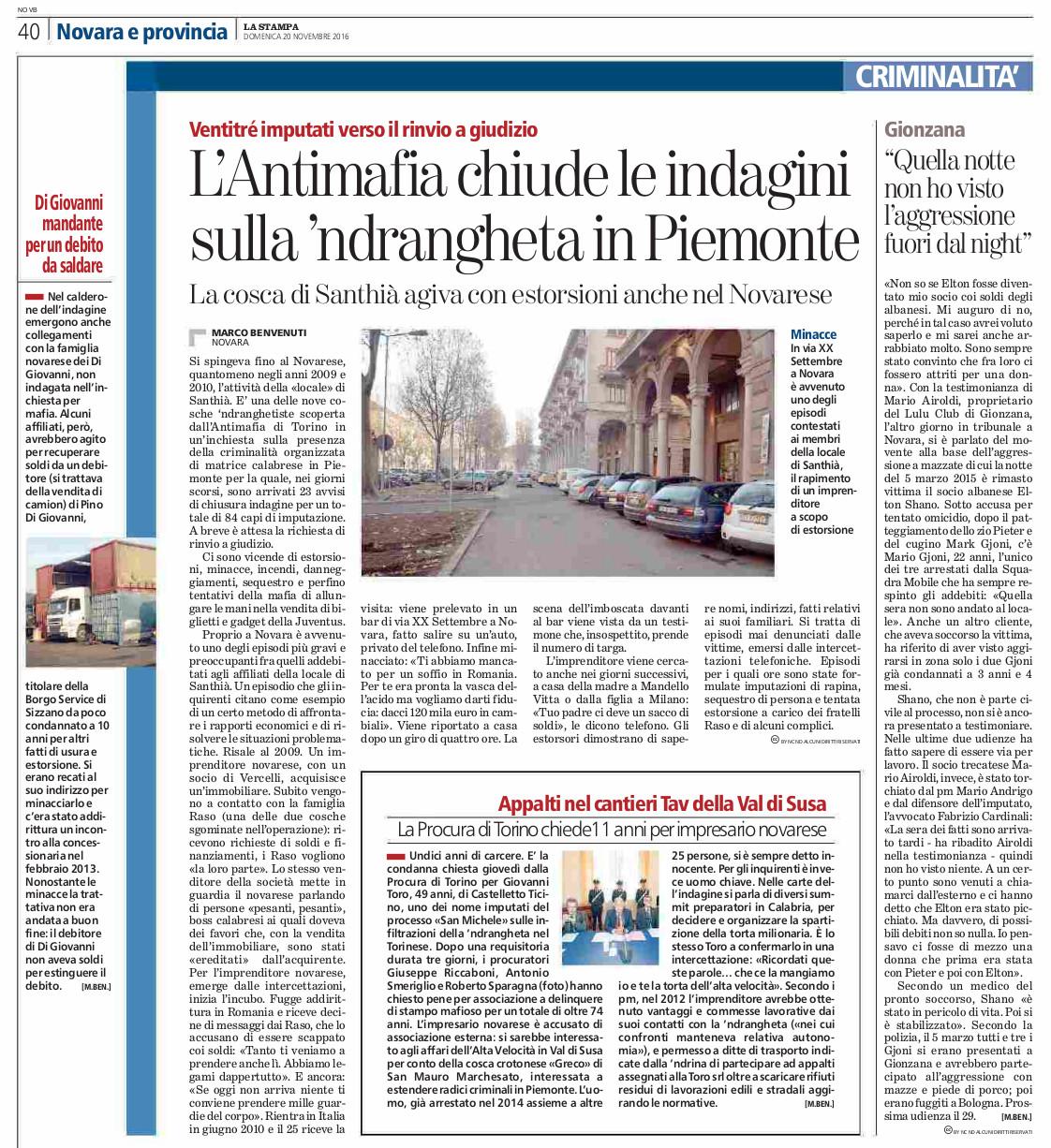 20-11-2016_ndrangheta_santhia_indaginichiuse-sanmichele_toro_accusa_lastampa-novara